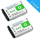 #9: SmilePowo NP-BX1 Battery (2-Pack) for Sony NP-BX1, NP-BX1/M8 and Sony Cyber-shot DSC-HX50V, DSC-HX300, DSC-HX400,DSC-RX1, DSC-RX1R, DSC-RX100