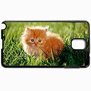 Customized Cellphone Case Back Cover For Samsung Galaxy Note 3, Protective Hardshell Case Personalized Funny Persian Cats Black