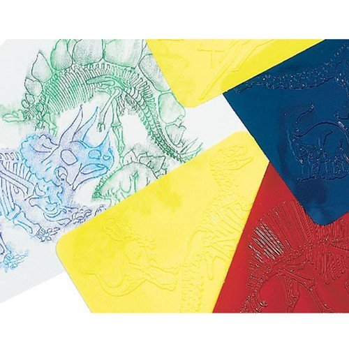 Dinosaur Rubbing Plates for Kids R-5823