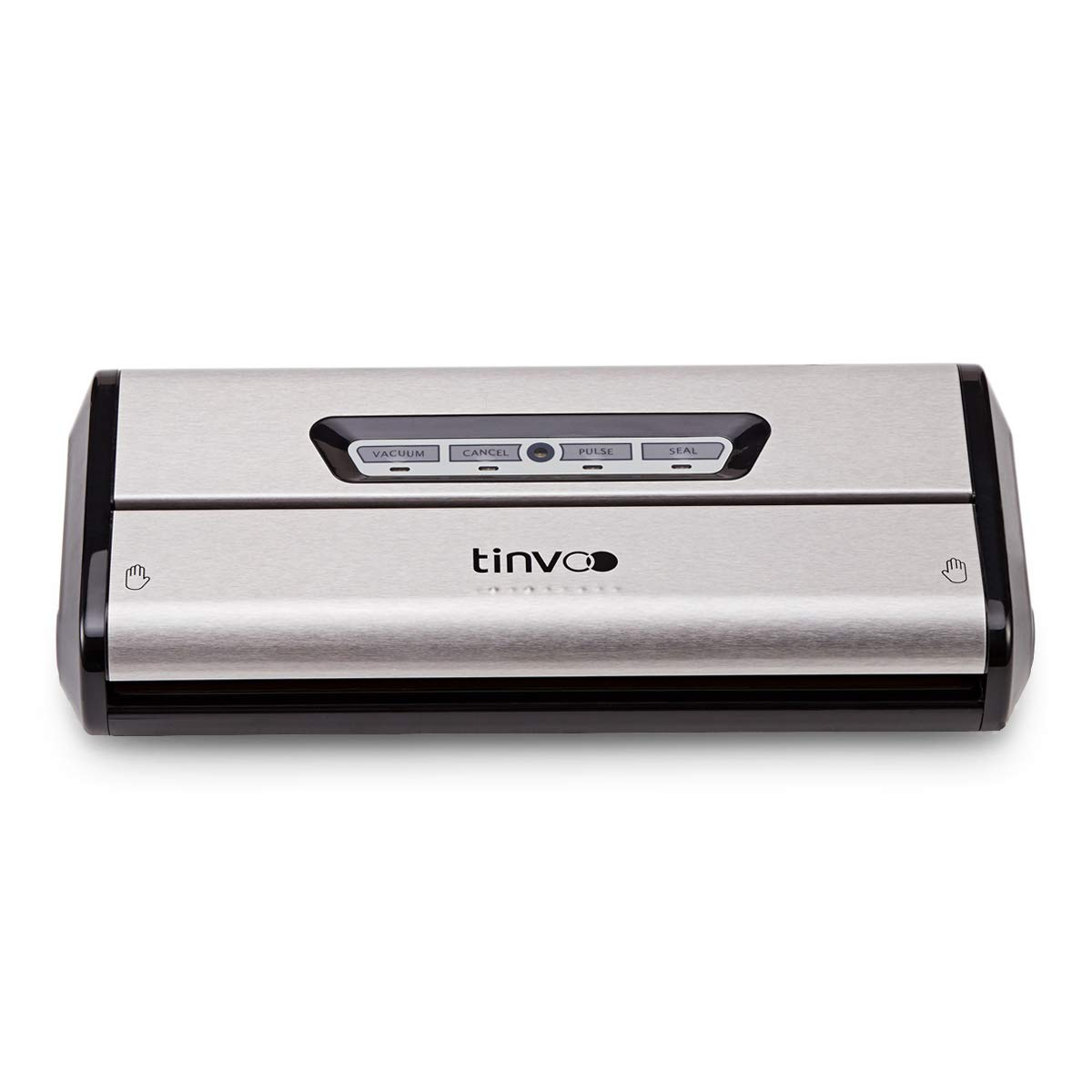 TINVOO VS100S Vacuum Sealer Machine Upgrade Automatic Food Sealer Machine with Starter Kit for Food Preservation,Sous Vide Vacuum Sealer System (Sliver/Stainless Steel)