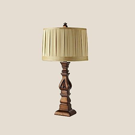 Lámparas QY Escritorio Mesa Europea Dormitorio Americana Mesa ...