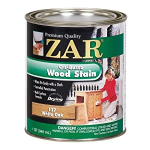 Zar 13712 Wood Stain White Oak Household Wood Stains