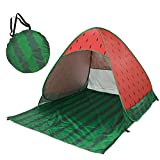 HomeMiYN Automatic Pop up Beach Tent Outdoor Sun Shelter UV Protector Waterproof Shade Camping Tents for Kids Adults,Multicolor