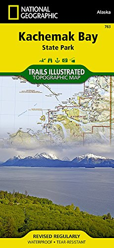 (Kachemak Bay State Park (National Geographic Trails Illustrated Map))