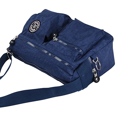 Casual Travel Bag Navy Shoulder Cross Bag Messenger Wocharm Body Purse Blue Women Handbag Bag CFn5xqFfg