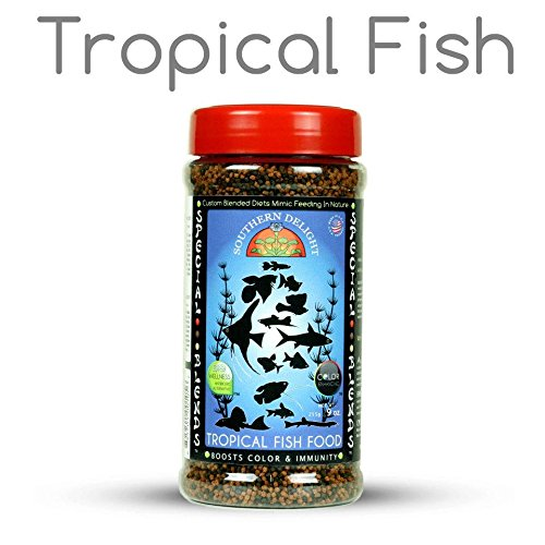 Colored Pellets Fish (Southern Delight Tropical Fish Food)