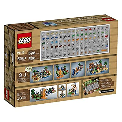 6 X LEGO Minecraft 21116 Crafting Box