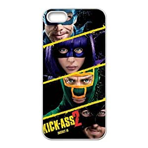 iPhone 5, 5S Phone Cases White Kick Ass LSDE5496989