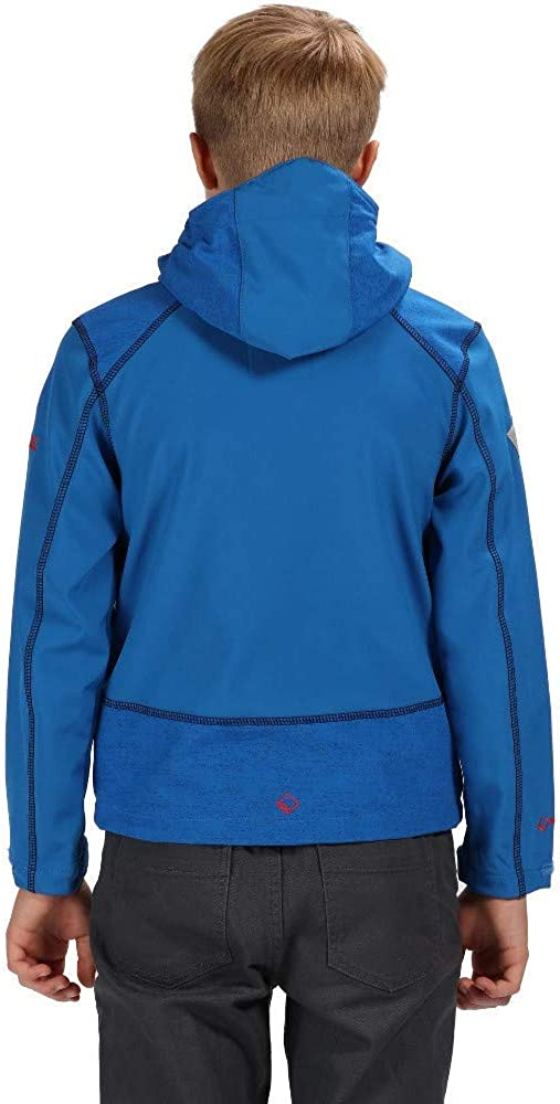 Softshell Beb/é-Ni/ños Regatta Acidity Iii Lightweight Water Repellent And Wind Resistant Hooded Jacket