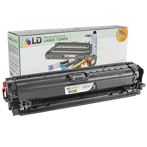 LD Remanufactured Toner Cartridge Replacement for HP 307A CE740A (Black) (307a Cartridge)
