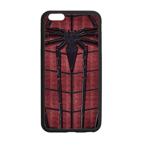 STYLE-UM@ Durable Soft TPU Case for iPhone 6 6s Plus with Spider Man Design, 5.5 inch