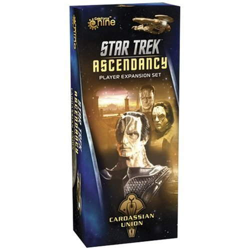 Star Trek Ascendancy Cardassian Expansion Game