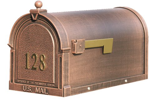 - Special Lite Berkshire Curbside Mailbox with Front Numbers