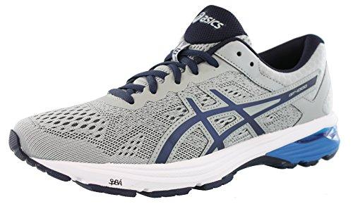ASICS Mens GT-1000 6 Running Shoe Mid Grey/Peacoat/Directoire Blue 7.5 Medium US
