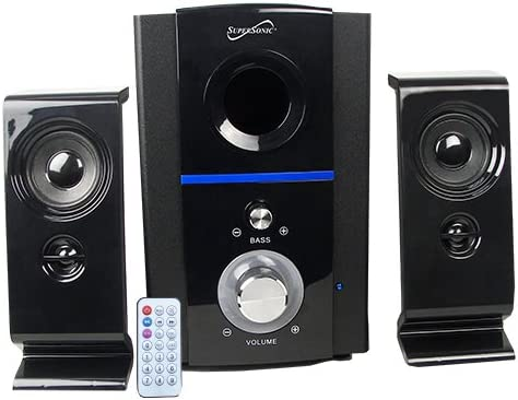 Supersonic SC-1126BT 2.1 BLUETOOTH MULTI MEDIA SPEAKER SYSTEM WITH REMOTE