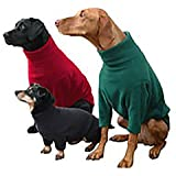 Dog Fleece by Hotterdog Small Red at Melian