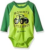 John Deere Baby Boys' Bodysuit, Lime Green, 3-6 Months