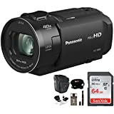 Panasonic HC-V800 Full HD Camcorder Essentials Bundle
