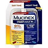 Mucinex Fast-Max Day/Night Severe Cold & Flu Caplets, 30ct