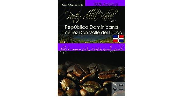 Pietro Delle Valle - República Dominicana Don Jimenez Callée Cibao TRM - 1 Kg: Amazon.es: Alimentación y bebidas
