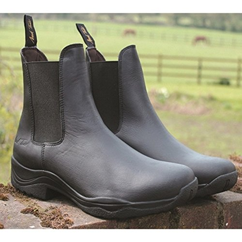 Mark Todd Adults Tasman Jodhpur Boots Brown
