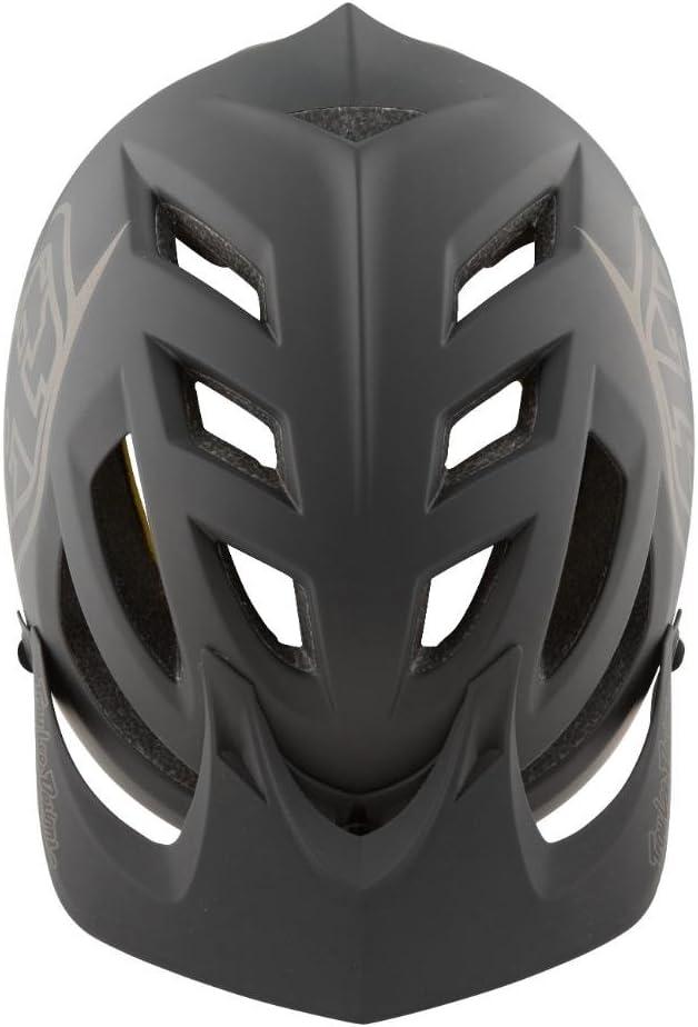 Casco de Bicicleta Gris//Negro 2019 Troy Lee Designs A1