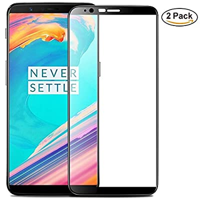 Couls Oneplus 5T Screen Protector,3D Curved Full Coverage [ 9H Hardness] [Anti Scratch] HD Clear Tempered Glass Screen Protector for Oneplus 5t Smartphone