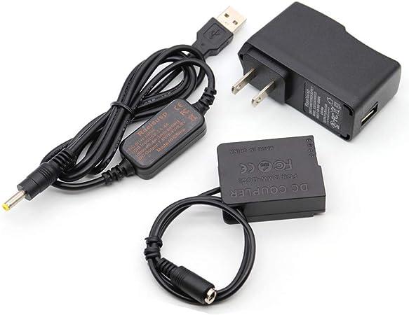Amazon Com 5v Usb Adapter Kit 5v3a Charger Dmw Dcc8 Blc12 Blc12e Couplers For Lumix Dmc Dmc Fz1000 Fz2000 Fz2500 Fz300 G7 G6 G5 Gh2 Fzh1 Gh2s Gx8 G80 G81 G85 Dc G90