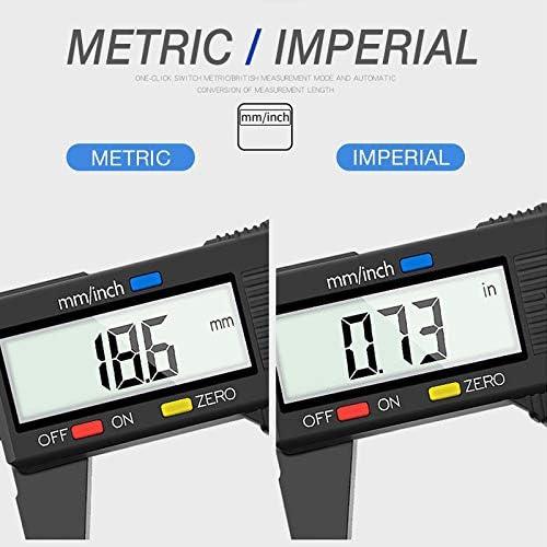 Color : 150mm WEI-LUONG tools Measuring Tool 0-150mm 6 Inch Plastic LCD Digital Electronic Carbon Fiber Vernier Caliper Rule Gauge Micrometer DIY TOOL Micrometer