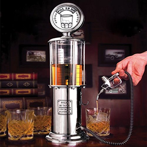 Shop24Hrs Creative Wine Beer Dispenser Pourer Gas Stastion Cocktail Drinks Pouring Measure Machine (Bottom Up Kegerator compare prices)