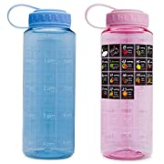 Belly Bottle Pregnancy Gifts Water Bottle Intake Tracker with Weekly Stickers Calendar Journal a Pregnancy Must Haves Essentials - gifts for pregnant women moms wife (blue)