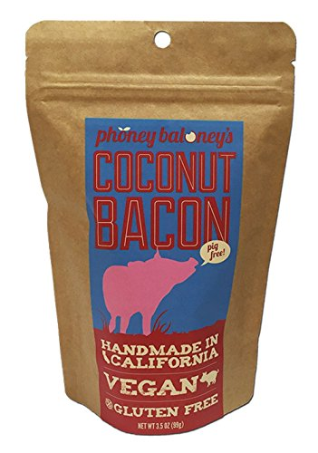 Coconut Bacon (2 Pack/Bags) - Enjoy Crunchy Coconut Chips With A Bacon Flavor...