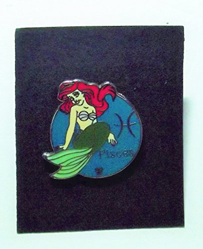 Disney Pin, 2012, Hidden Mickey Series, Zodiac Collection, Pisces Ariel, TRADE ONLY Pin, Pin Pic # 88680 (Pisces Collection)