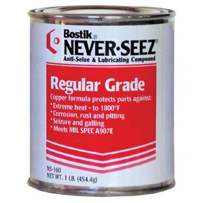 Regular Grade Compounds - 12.5oz aerosol anti-seize and pressure lu [Set of 12] by Never-Seez