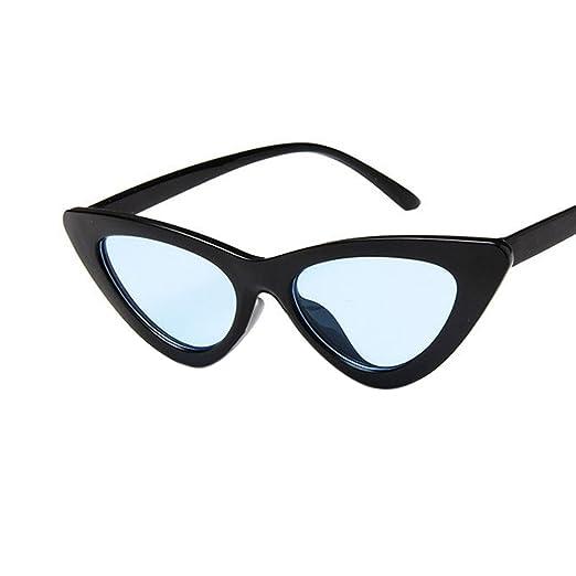 5f7c860a45b Retro Triangle Cat Eye Sunglasses UV400 Clean Vision Glasses Eyewear  Valentine s Day Gift Bright Black