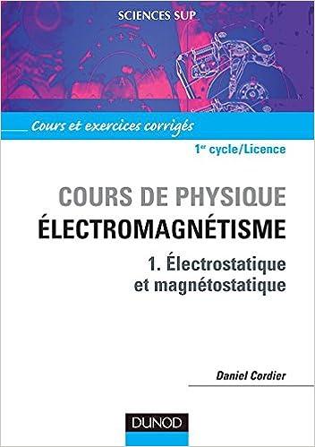 Magnétostatique cours