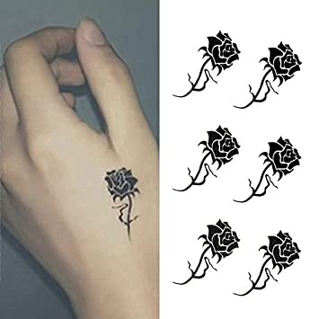 Small Flower Tattoos On Hand