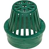 Rainbird Plastic Round Atrium Grate, Green, 4''
