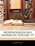 Morphologisches Jahrbuch, Volume 6, Anonymous, 1143603060