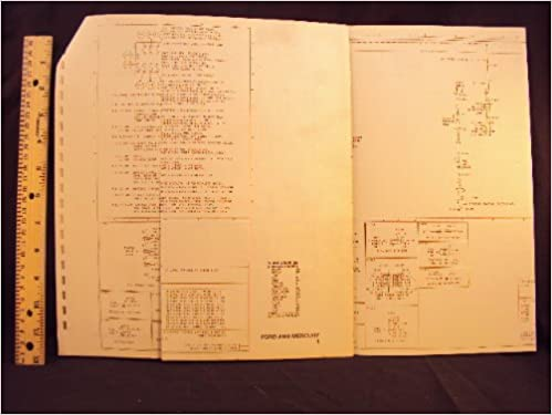 1977 77 ford crown victoria & mercury grand marquis electrical wiring  diagrams manual ~original loose leaf – january 1, 1977