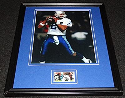 Autographed Couch Picture - Framed 11x14 Display Kentucky - Autographed NFL Photos