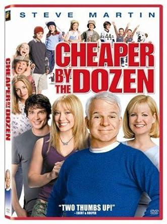Amazoncom Cheaper By The Dozen Steve Martin Bonnie Hunt Hilary  Cheaper By The Dozen