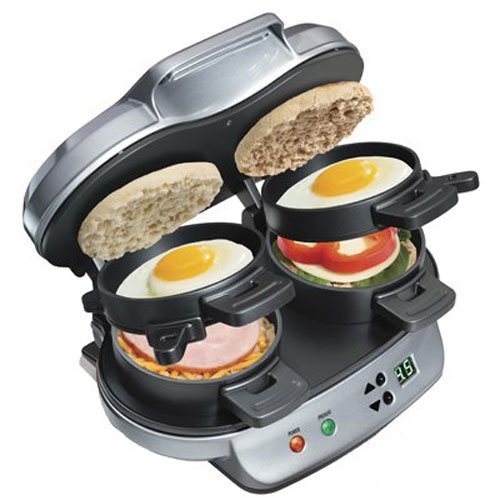 (Hamilton Beach 25490 Dual Breakfast Sandwich Maker)