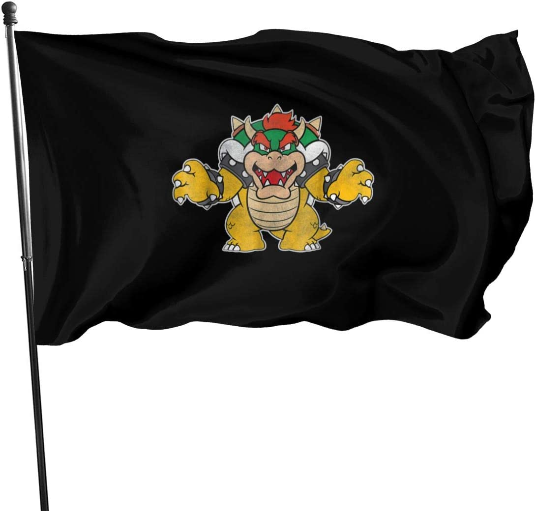 Bowser Coming for You Garden Flag, Decorations for Home Decor House Yard Outdoor Party Supplies 51AIZl3I3ZL
