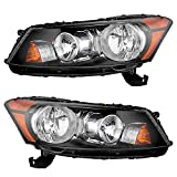 2008 accord sedan headlights - Driver and Passenger Headlights Headlamps Replacement for Honda 33150TA0A01 33100TA0A01