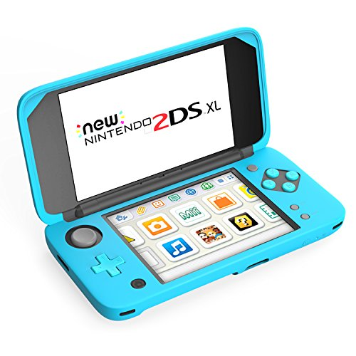 MoKo Silicone Case for Nintendo New 2DS XL, Anti-slip Protective Cover Skins for Nintendo New 2DS XL/LL (2017) - (New Silicone Skin Case)