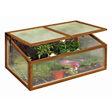 Tierra Garden 50-4400 Haxnicks Cold Frame Hardwood Greenhouse Box