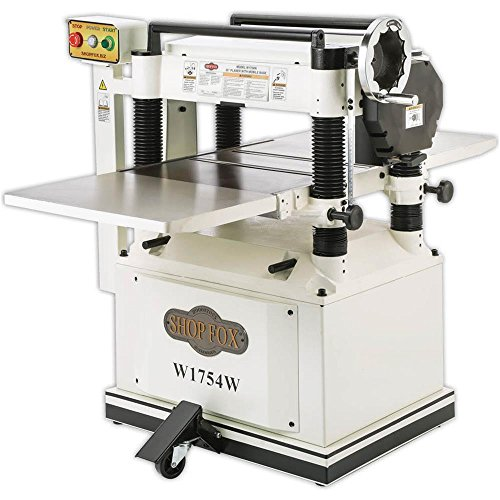 "Shop Fox W1754W 20"" Planer with Built in Mobile Base"