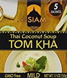 panang curry mix - deSIAM Soup, Thai Coconut (Tom Kha), 1.7 Ounce (Pack of 12)