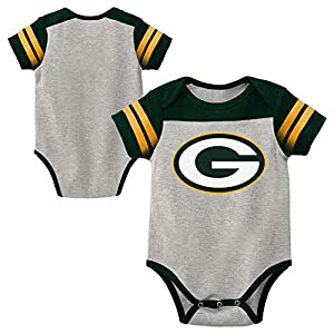 61f8dc2d Green Bay Packers FUTURE PACKERS Romper Infant Size 0-3 Months ...